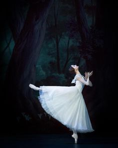 "© Natalia Voronova | Ella Persson as ""Giselle"", ""Giselle"" libretto by Théophile Gautier and Jean-Henry Saint-Georges, choreography by Jean Coralli, Jules Perrot, Marius Petipa, music by Alphonse Adam, Mikhailovsky Ballet, Saint Petersburg, Russia"