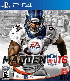 Demarcus Ware Madden 16 Cover Demarcus Ware, Football Video Games, Terrell Davis, Superbowl Champions, John Elway, Ea Sports, Game Rooms, Peyton Manning, Denver Broncos