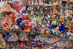 The markets in Marrakesh...so beautiful