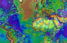 New satellite maps could help search for geothermal energy (this one has info about rock layers)