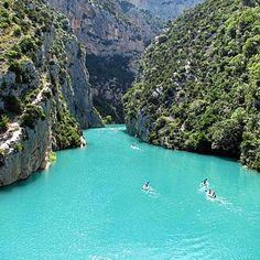 Verdon Canyon, France