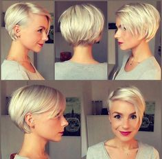 10 latest pixie haircut for women - ideas with a difference! - hairstyle ideas - 10 latest pixie haircut for women – ideas with a difference! Short Pixie Haircuts, Pixie Hairstyles, Short Hairstyles For Women, Straight Hairstyles, Casual Hairstyles, Hairstyle Ideas, Braided Hairstyles, Hairstyles 2018, Trendy Haircuts