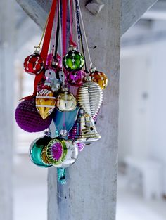 Christmas ornaments from Bloomingville ♥ christmas<3