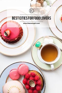 Our Favorite Cities for Food Lovers #theeverygirl