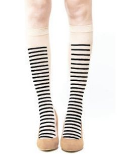 Sheer Lined Knee Socks | 27 Rad Pairs Of Socks To Keep Your Feet Cozy