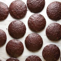 Chocolate-Glazed Almond Spice Cookies (Lebkuchen)