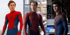 """""""Homem-Aranha: Regresso a Casa"""" é o sexto filme do super-herói em 15 anos. O SAPO Mag ordena tanta abundância com Tom Holland, Tobey Maguire e Andrew Garfield do pior para o melhor."""