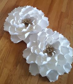 Paper flower home decor Giant paper flowers Large paper