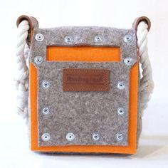 Filz Umhängetasche kleine Tasche Festival-Tasche von Rambag auf Etsy