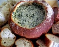 French Onion and Spinach Cob Loaf - Student View