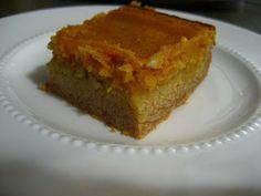 DESSERT - Paula Deen's Pumpkin Gooey Bars. The only pumpkin dessert I ...