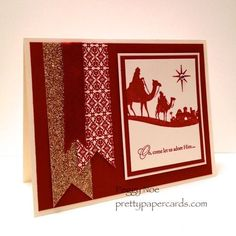 come to bethlehem stamp set - Google Search