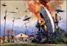 John Berkey - Crash Landing