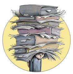 Om skolegang i DBMagasinet Character Illustration, Illustration Art, Back To School Art, Disney Concept Art, Ink Art, Art Pictures, Cute Art, Art Inspo, Illustrators