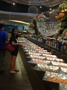 Wide selections of foods @ yakimix asian buffet