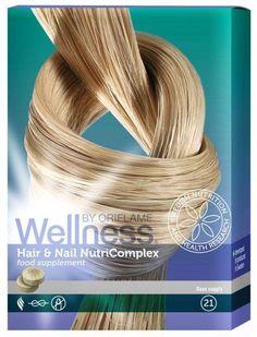 Oriflame Wellness haj- és köröm erősítő tabletta