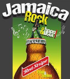 Jamaica, rock and beer
