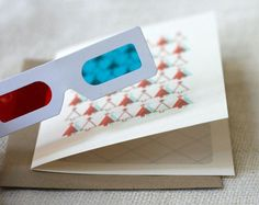 3-D greeting card. Cool.