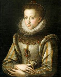 Alonso Sánchez Coello. Portrait of a young woman. 1580s. National Museum, Krakow. Accession: MNK I-929.