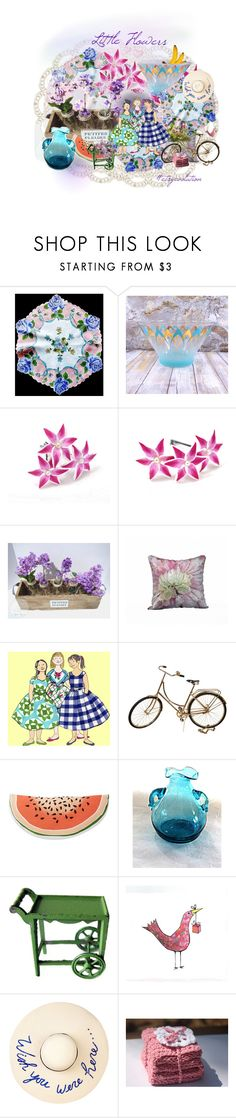 """Little Flowers"" by seasidecollectibles ❤ liked on Polyvore featuring Nordstrom Rack, Dollhouse, Eugenia Kim and vintage"