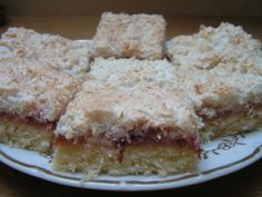 KOKOSOVÉ ŘEZY Easy Cookie Recipes, Sweet Recipes, Coffee Time, Vanilla Cake, Brownies, Sandwiches, Cheesecake, Muffin, Sweets