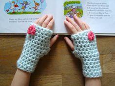 Valentine Mitts: free crochet