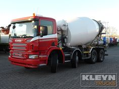 For sale: Used and second hand - Mixer SCANIA P 380 #trucks at #kleyntrucks