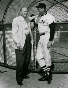 Ty Cobb & Ted Williams
