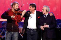 David Garrett, Udo Jürgens und Jose Carreras bei der Charity-Gala zu ...