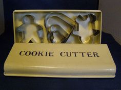 All of my biccie cutters!