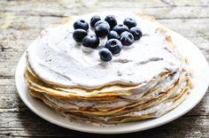 Blaubeer-Crêpe-Torte I Tiny Spoon