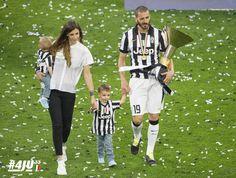 La festa scudetto della #Juventus