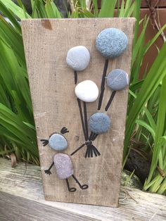 Pebble art up and away от LovinglyCreative на Etsy