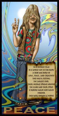 ☮ American Hippie ☮ Hippies