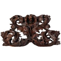 Large Portuguese Oak Carved Architectural Element | From a unique collection of antique and modern architectural elements at https://www.1stdibs.com/furniture/building-garden/architectural-elements/