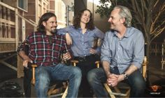#Mockingjay FIRST LOOK takes you behind the camera! Join director Francis Lawrence, producer Nina Jacobson, and writer Peter Craig in a #HungerGamesExclusive roundtable discussion, only at www.TheHungerGamesExclusive.com!