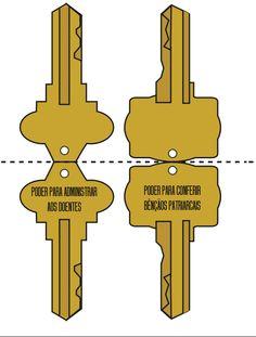 Apenas uma Secretaria: O que são as chaves do sacerdócio?
