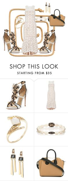 """""""Untitled #1968"""" by deirdre35 on Polyvore featuring Alexandre Birman, Mikael Aghal, Jacquie Aiche, Devon Page McCleary, Robert Lee Morris and Givenchy"""