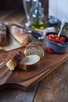 Baguette mit Bruschetta - Quick Baguette with Bruschetta (3)