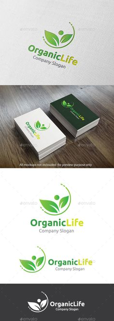 Organic Life — Vector EPS #branch #leaf • Available here → https://graphicriver.net/item/organic-life/11319938?ref=pxcr