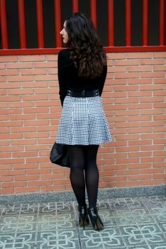 OOTD: dark and bold #ootd #fashion #fashionblogger #outfit