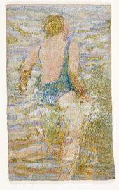 'Swimmer' Audrey Walker Portrait Embroidery, Textiles, Textile Artists, Bead Art, Creative Inspiration, Mosaics, Fiber Art, Folk Art, Stitches