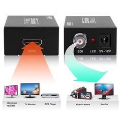 Excelvan® MINI 3G HDMI to SDI Converter for Home Theater