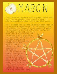 "Autumn Equinox:  ""#Mabon Set page 1,"" by jezebelwitch, at deviantART."