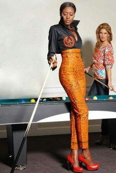 African Fabric, Ankara, African Shop. All hail the african print pants!♥♥♥♥