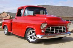 55 Chevy Pickup, This was my first truck I bought in 1977, and then I hot rodded it. HC