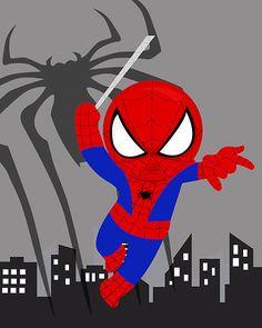 PICK 4 impresiones de arte de pared de superhéroe