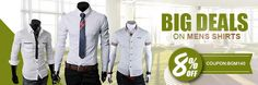 Extra 8% OFF For Mens Shirts – banggood.com
