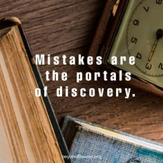 Don't waste time grieving over past mistakes, learn from them and move on.