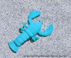 Washcloth Lobster Crawfish for Diaper Cake by TopsyTurvyDiaperCake
